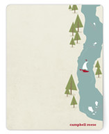Fish Tales & Campfires Children's Stationery