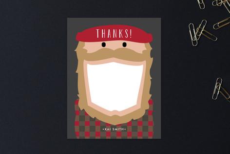 Flannel Thanks Children's Stationery