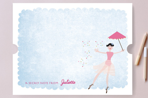 The Ballerina Children's Stationery