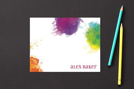 Artist Palette Children's Stationery