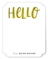 Hello Outlines Children's Stationery