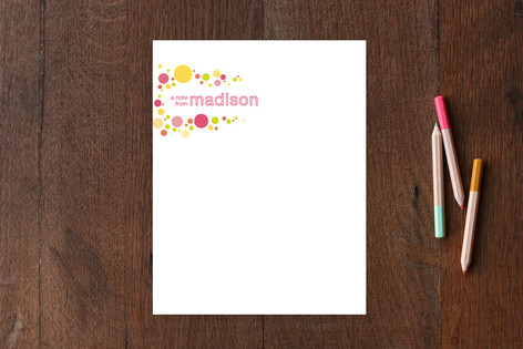 pop dot Children's Stationery