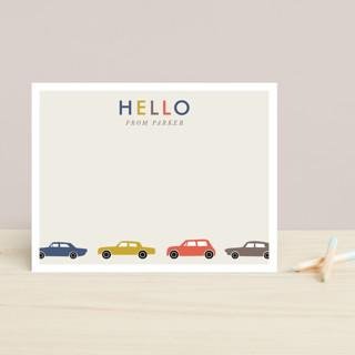 Matchbox Cars Children's Stationery