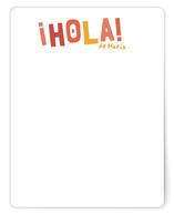 Hola! Children's Stationery