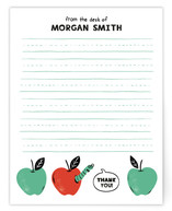 Book Worm Social Stationery