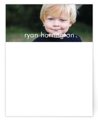 Riley Children's Personalized Stationery