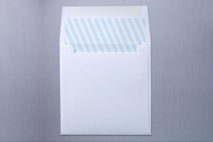 """Smart Conversation"" - Modern, Modern Slip-in Envelope Liners in Pool Blue by pottsdesign."