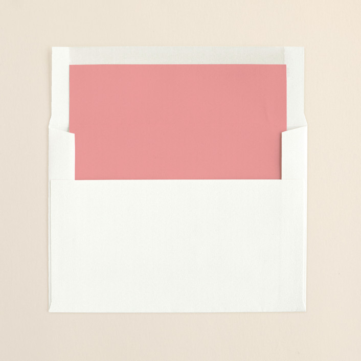 """""""Aquarelle"""" - Preppy, Craft Slip-in Envelope Liners in Apricot Rose by Paper Plains."""
