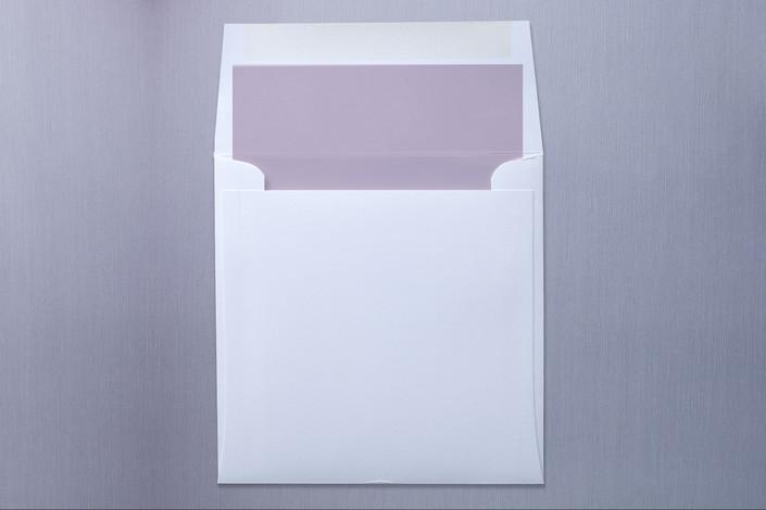 """Swanky Hotel"" - Modern Slip-in Envelope Liners in Stone by Splendid Press."