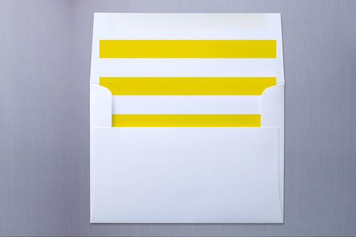 """Lemon Drop"" - Preppy, Preppy Slip-in Envelope Liners in Sunshine by Oscar & Emma."