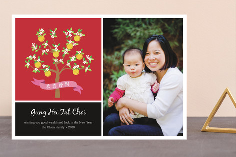 Mandarin Chinese New Years Cards