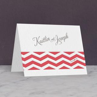 Heartthrob Letterpress Thank You Cards