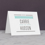 Letterpress Thank You Cards