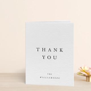 Johannis Letterpress Thank You Cards