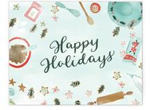 Baking Christmas Cookie... by Megan Kelso