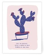 Cactus Love Note Non-Custom A2 Cards