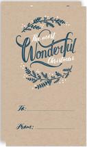 Wonderful Christmas Mini Cards