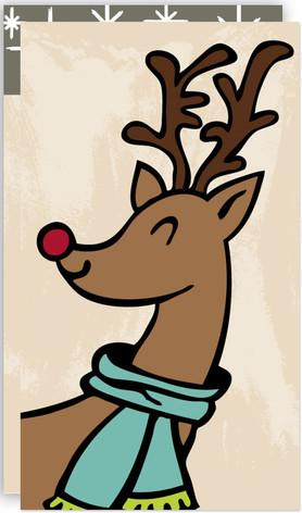 Jolly Deer Self-Launch Mini Cards