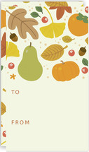 Autumn Leaves Tags by Four Wet Feet Studio