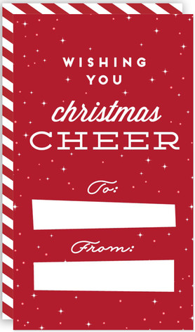 Christmas Cheer Tag Self-Launch Mini Cards