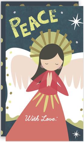 winter angel Self-Launch Mini Cards