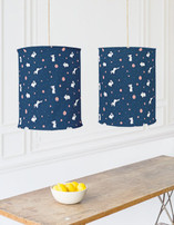 Bunny Hop Self Launch Chandelier Lampshades