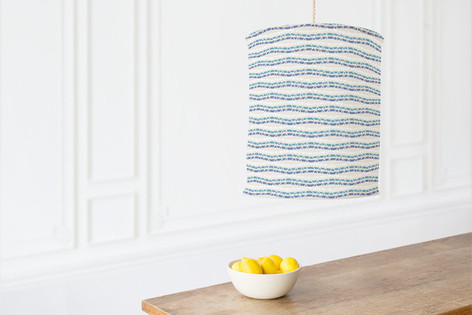 Chevron Stripe Braids Self Launch Chandelier Lampshades