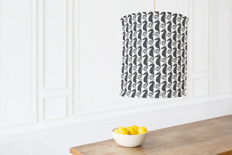 Sea Horse Self Launch Chandelier Lampshades