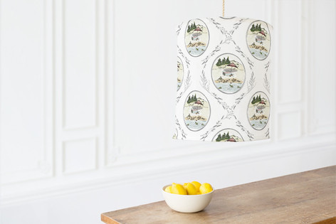 Beach Day Play Self Launch Chandelier Lampshades