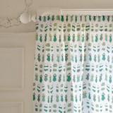 retro swim wear Curtains