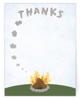 Smoke Signal Thanks by Laura Bolter Design