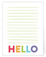 Simple Lined Hello by Lacie Cunningham