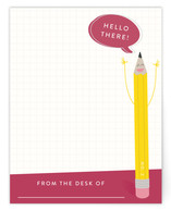 Happy Pencil Children's Flat Stationery