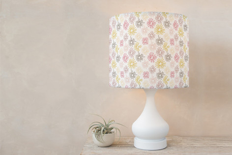dandelion fluff Self Launch Drum Lampshades