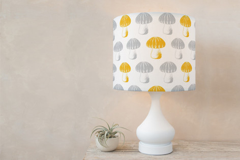 Bubble Top Truffles Self Launch Drum Lampshades