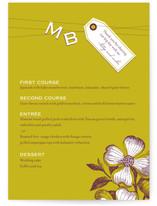 Charmed Menu Cards