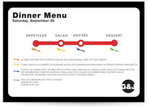 Dinner Map