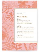 Sundance Wildflowers Menu Cards