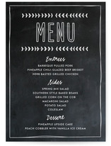 Blackboard Perfection Menu Cards