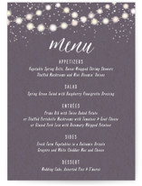 Garden Lights Menu Cards