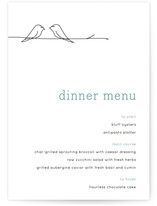 Birds of a Feather Menu Cards