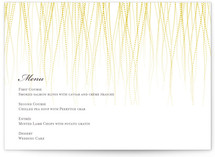 Goldshine Menu Cards