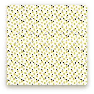 Lemony Self-Launch Fabric
