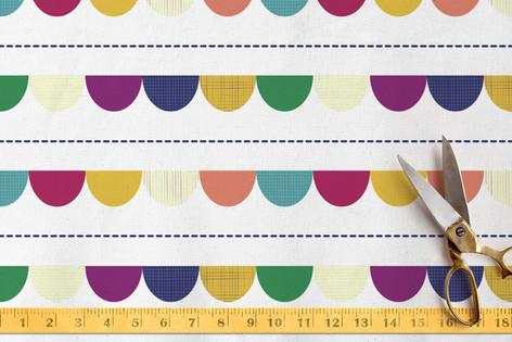 Happy Half Dot Fabric