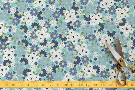 Sweet Floral Meadow Fabric
