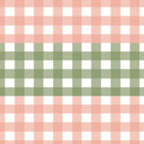 Blush and Green Vichy Theme