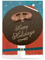 Black Santa by Katie Zimpel