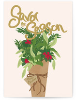 Winter Savory Bouquet by Red Impressionz