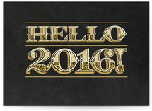 Hello 2016! by Laura Bolter Design