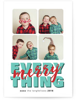 every Merry thing Cards